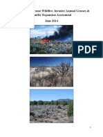 Greater sage-grouse wildfire, invasives annual grasses and conifer expansion assessement, June 2014 report