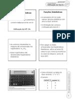 Aula 07 - Funções Estatisticas