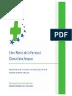 Libro Blanco de La Farmacia Comunitaria