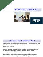2. Emprendimiento Social Fundamentacion Teorica
