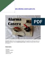 Cómo Hacer Una Alarma Casera Para Tu Habitación