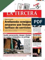 Diario La Tercera 06.07.2016
