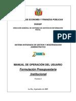 Manuals Fp 2010