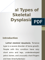 lethal types of skeletal dysplasia.pptx