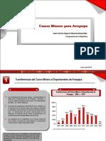 Informe sobre canon minero Arequipa (Transferencias 2016)
