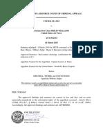 United States v. Williams, A.F.C.C.A. (2015)