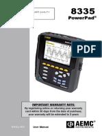 Manual AEMC 8335