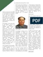 El Liderazgo de Mao Tse