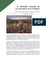 Rescatando La Identidad Nacional Peruana