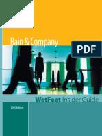 Bain Insider Guide