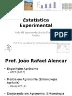 Estatística Experimental introdução