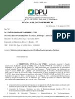 DPU Cobra explicações ao MCTI sobre o Relatório da Fosfo