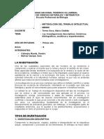 Las Investigaciones Descriptivas, Históricas, Bibliográficas, Analíticas y Experimentales