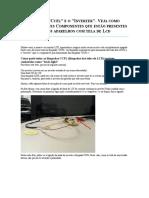 Como Testar Circuito Inverter e Luz Ccfl