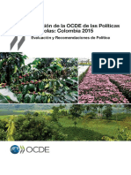 OECD Review Agriculture Colombia 2015 Spanish Summary