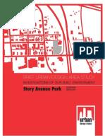 Story Avenue Park plan