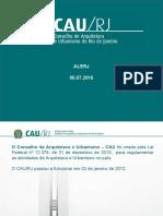 Apresentação CAU/RJ