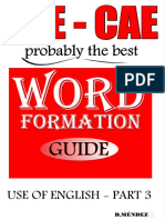 word formation guide use of english