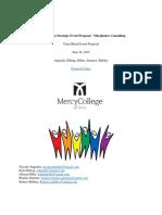 mercy college strategic event proposal - nibejukairo consulting