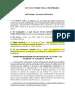La Convencion Colectiva Del Trabajo en Venezuela Complementos