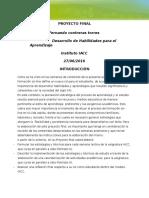 Fernando Contreras Proyecto Final Desarrollo de Las Habilidades