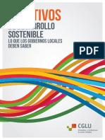 Gobiernos Locales - Objetivos de Desarrollo Sostenible de la Agenda 2030