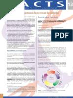 Factsheet 13 - Exito en La Gestion de La Prevencion de Accidentes