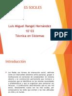 Redes Sociales Miguel Rangel