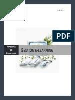 Programa Gestión E-learning