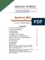 Acerca Del Antisemitismo Informe