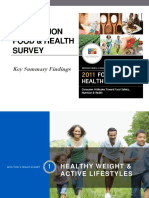 2011 IFIC FDTN Food and Health Survey Key Bullet Slides (2)