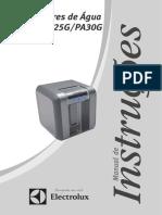 Manual Filtro Eletrolux PA20G