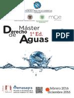 Master Derecho de Aguas Sept.2015