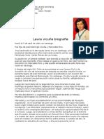 Laura Vicuña Biografia