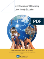 Best Practices in Preventing and Eliminating Child Labor Through Education