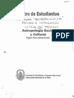 Balandier g. Antropo-logicas. Prologo e Introduccion