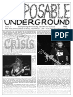 Disposable Underground Issue 33