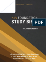 KJV Foundation Study Bible - Book of Matthew