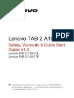Lenovo Tablet Guide