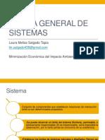 1 Teoría General de Sistemas