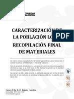 Caracterización de La Población LGTBI Colombia, Mincultura