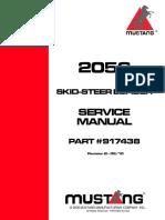 mustang 2054 service manual