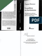 Manzano - Politica en Movimiento