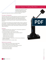 SI Series Pendulum Impact Testing Machines Model SI 1