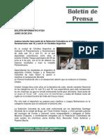 Boletín de Prensa Junio 2016