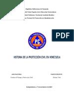 Historia de La Protección Civil en Venezuela. Silvano Vera.