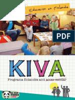 Educación en Finlandia KiVa anti acoso escolar