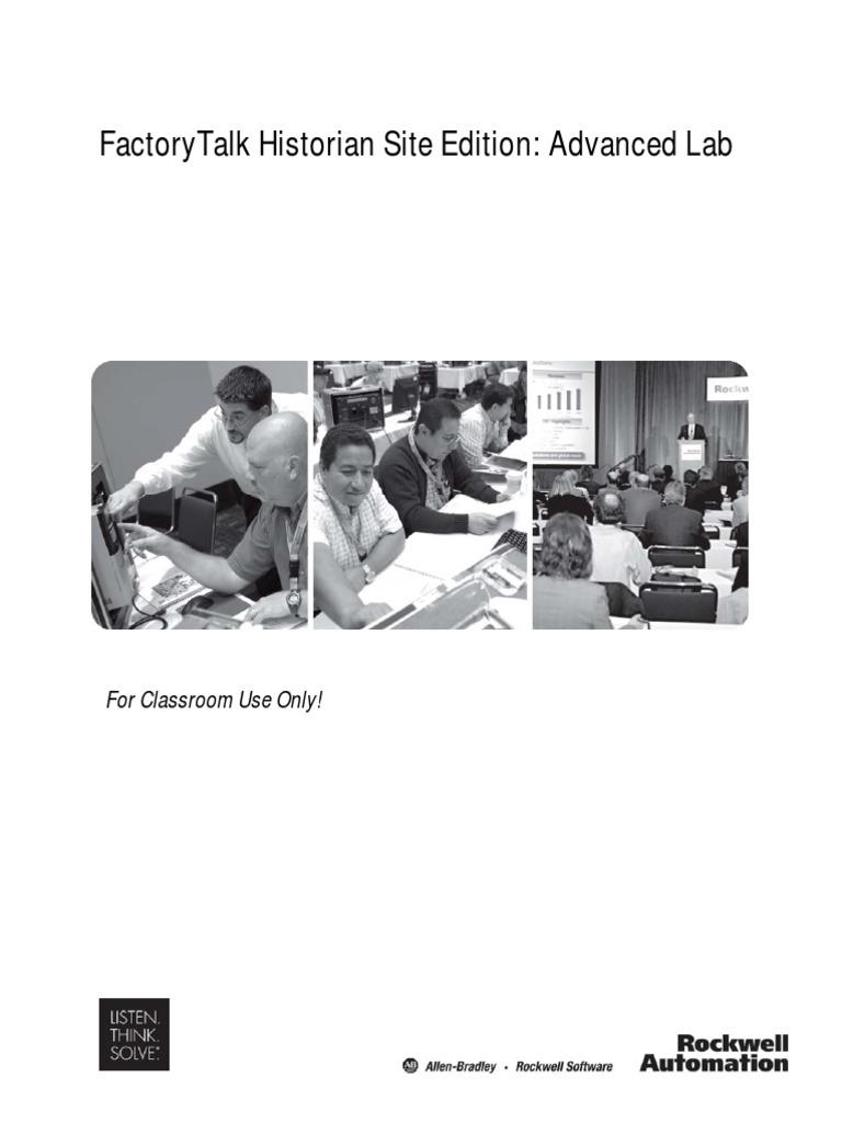 FactoryTalk Historian Site Edition: Advanced Lab | Microsoft Windows