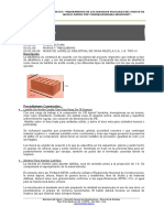 Especificaciones Tecnicas Arquitectura Churuja