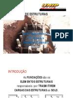 Disciplina Fundaes Aulas Unip Engenharia
